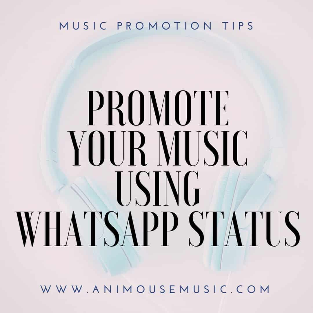 How to add an audio file to my WhatsApp status update
