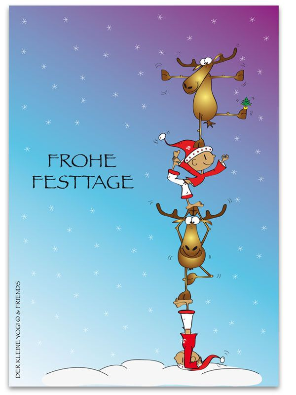 Frohe Festtage-happy holidays | Chosen Cards | Christmas ...