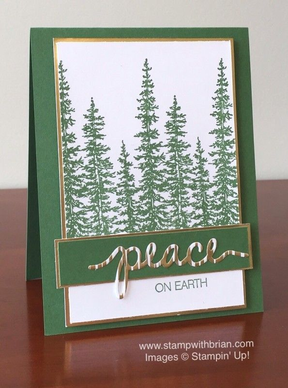 Wonderland, Holly Jolly Greetings, Stampin' Up!, Brian ...